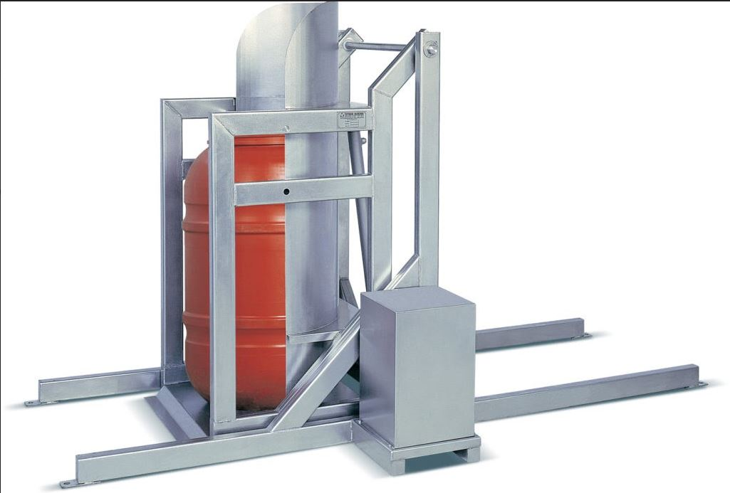 Barrel Emptying Machine